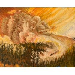 """""""Wildfire Smoke, No. 11"""",..."""