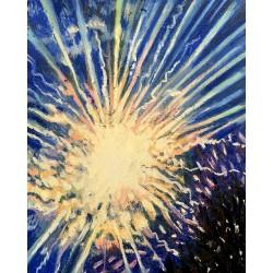 """Firework No. 11"", 8"" x..."