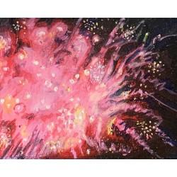 """Firework No. 1"", 10"" x 8"",..."