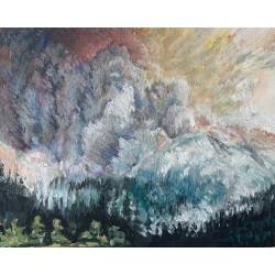 """""""Wildfire Smoke, No. 1"""",..."""