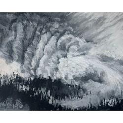 """""""Wildfire Smoke, No. 4"""",..."""